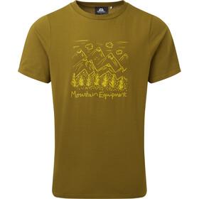 Mountain Equipment Vista T-shirt Homme, olive